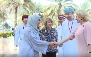 viorica dancila in oman
