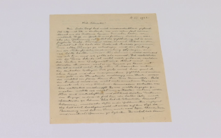 Scrisoare Albert Einstein