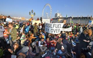 Protest la Londra
