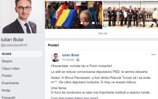 mesaj deputat USR Iulian Bulai