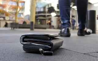 portofel, portofel gasit pe strada