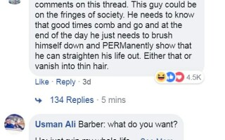 Barbat Facebook