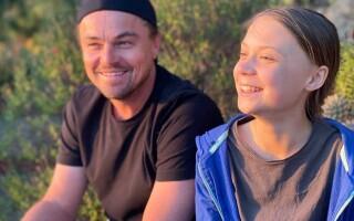 Leonardo Di Caprio o susţine pe Greta Thunberg. Actorul o numește