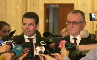 Sorin Cîmpeanu și Daniel Constantin