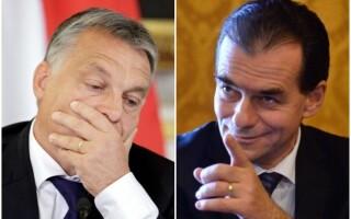 Viktor Orban vs Ludovic Orban. Glume în presa din Ungaria pe seama numelor celor doi premieri