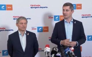 Dan Barna si Dacian Cioloș