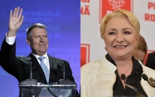 Klaus Iohannis și Viorica Dăncilă se vor lupta în turul 2 al alegerilor prezidențiale