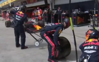 Momentul în care mecanicii Red Bull doboară recordul mondial la schimbat pneuri