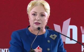 Viorica Dăncilă, la dezbaterea de la Palatul Parlamentului