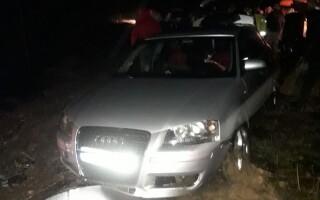 A scăpat cu viață după ce a plonjat cu mașina în Dunăre. Ce au descoperit polițiștii