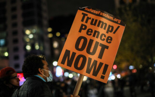 proteste alegeri anti trump