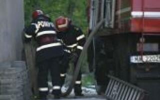Un barbat a murit incercand sa stinga un incendiu