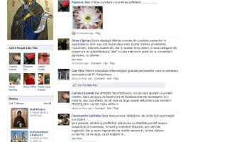 Sfanta Paraschiva pe Facebook