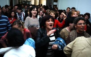 Protest la Ministerul de Finante