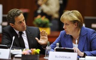 Angela Merkel si Nocolas Sarkozy