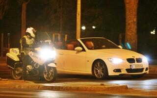 controale in trafic, Politie