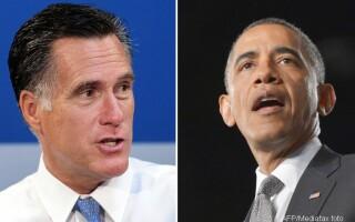 Obama si Romney