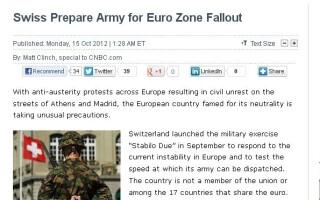 armata - elvetia