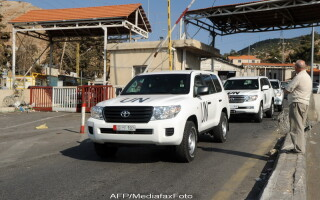 convoi ONU in Siria