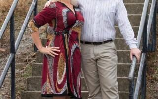 Sandra si Michael Menarry