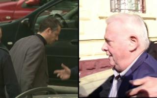 Viorel Hrebenciuc si Andrei Hrebenciuc