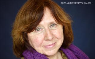 Svetlana Alexievici, castigatoare Nobel pentru literatura