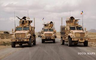 vehicule militare romanesti in Afganistan