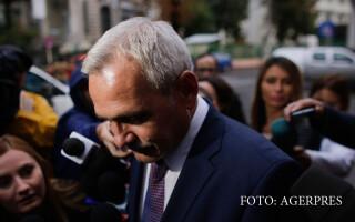 Liviu Dragnea soseste la sediul Inaltei Curti de Casatie si Justitie, in Bucuresti, marti, 20 septembrie 2016