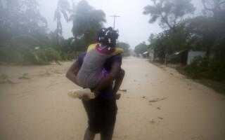 Haiti uragan - Agerpres