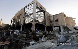 atac saudit cu racheta in Sanaa