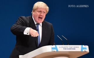 Boris Johnson, ministru de externe britanic