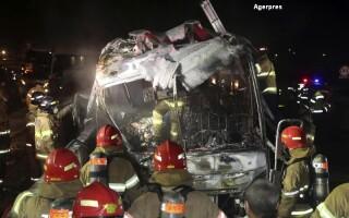 Accident autobuz Coreea de Sud
