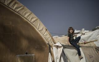 copil in Mosul - Agerpres