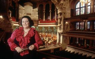 Soprana spaniolă Montserrat Caballé a murit la 85 de ani