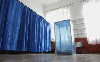 sectie de votare goala