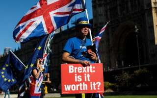 Protest anti Brexit la Londra