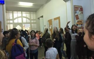 protest, timisoara, elevi,