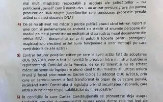 intrebari pentru Klaus Iohannis