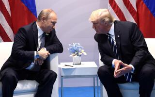 Vladimir Putin, Donald Trump
