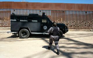Imagini de la granița Mexic - SUA - 6