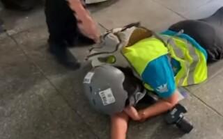 Jurnalistă împușcată în zona ochilor în timpul protestelor din Hong Kong