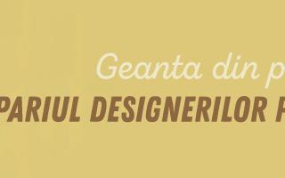 (P) Geanta din piele, pariul designerilor pentru 2021
