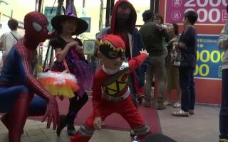 Halloween in Taiwan