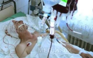 Tanarul se afla in coma la spital