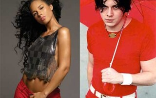 Alicia Keys si Jack White