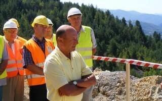 Traian Basescu la Rosia Montana