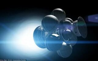 proiectul Daedalus, zbor interstelar
