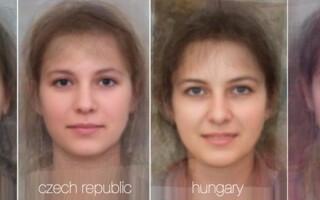 femei frumoase, colaj, Romania