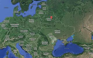 harta Babruisk Europa