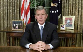 george bush 9/11 - getty
